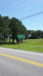 Shore Tour Bay Bridge Centreville Sign