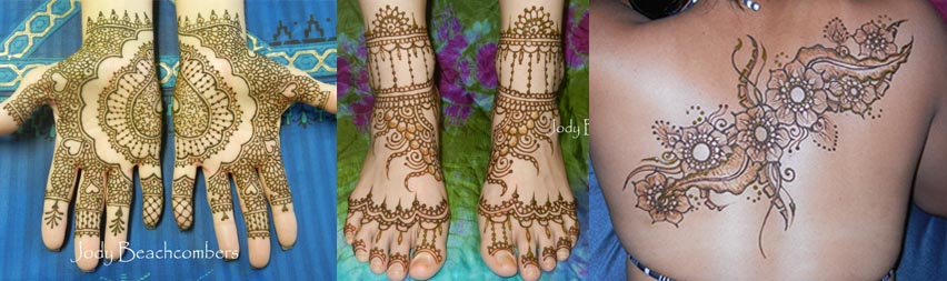 Professional henna tattoos in Orlando