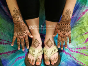 Light Bridal Henna in Orlando Florida