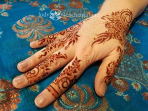 Beautiful Red Henna Stain Orlando FL