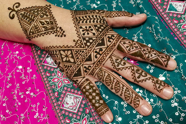 Moroccan Henna Style Hand