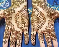 Learn henna design online