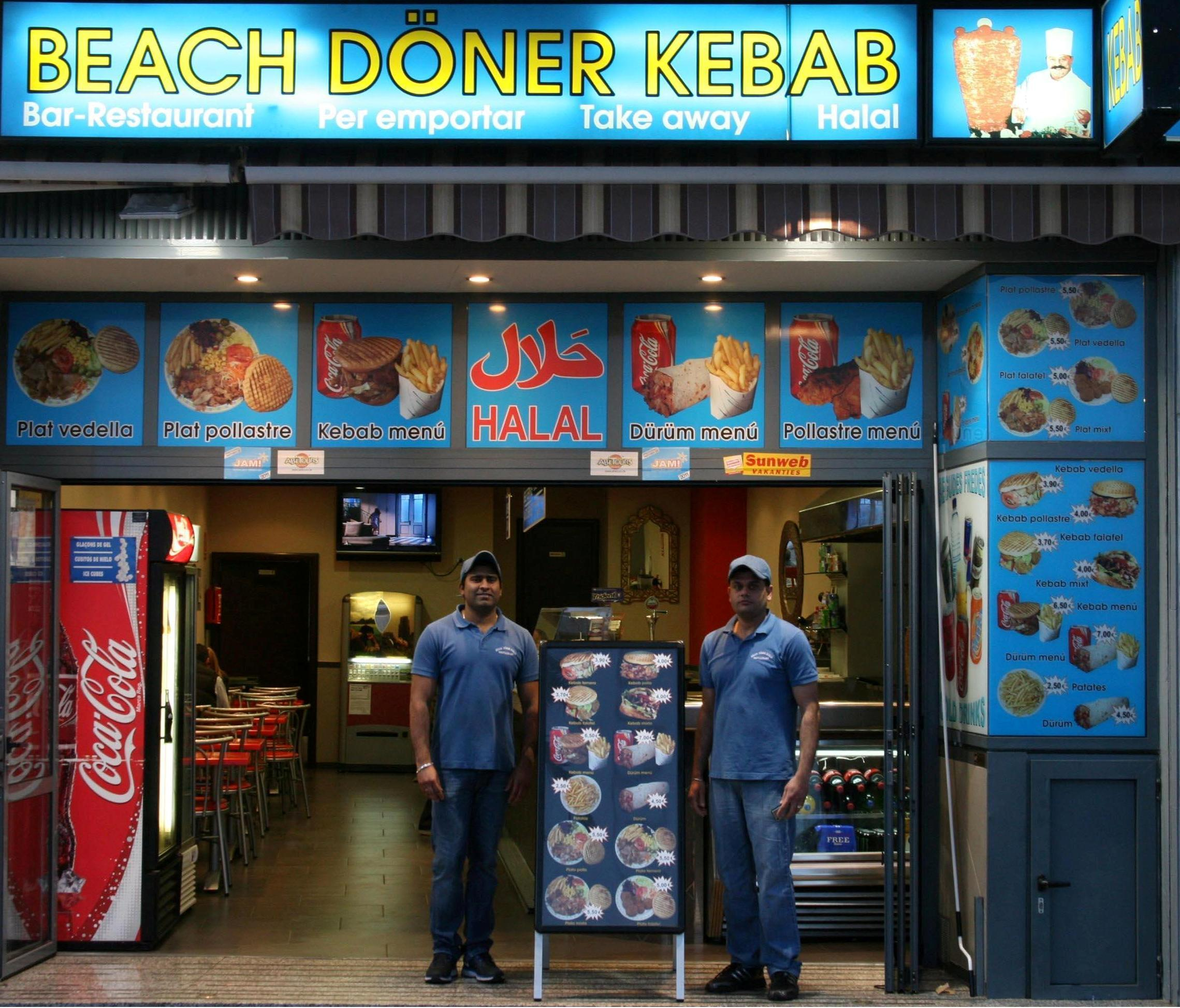 HORARIO  BEACH DNER KEBAB LLORET