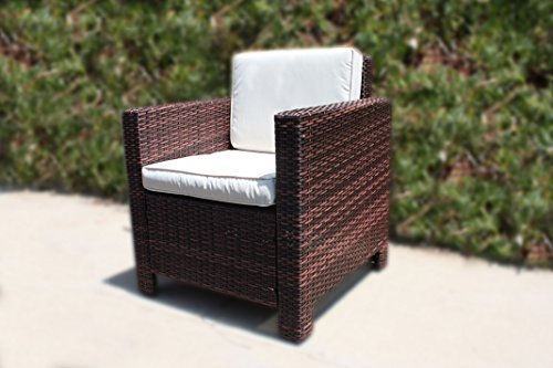 kitchen chair covers cork kelsyus canopy the miami beach collection - 4 pc rattan wicker sofa