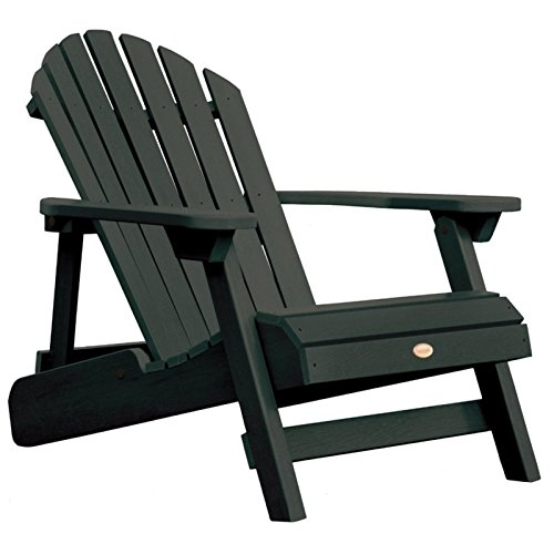 wicker reclining patio chair swing gray highwood hamilton folding and adirondack