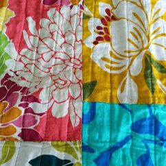 C Spring Patio Chairs Best Sleeper Chair And A Half Colorful Flower Power Party Patchwork Quilt Set
