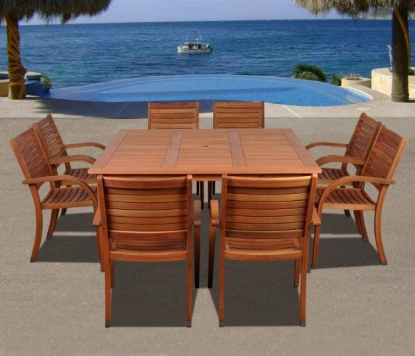 teak wood patio furniture set Best Teak Patio Furniture Sets - Beachfront Decor
