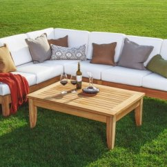 2 Pc Rocking Chair Cushions Low Lawn Chairs Target Atnas Grade-a Teak Outdoor Sectional Sofa Set