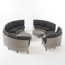 Outdoor Wicker Patio Furniture - Beachfront Decor