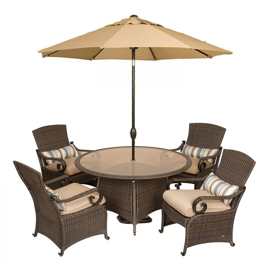 Outdoor Wicker Dining Chairs La Z Boy Lake Como Wicker Dining Set