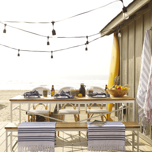 beautiful beach inspired patio designs