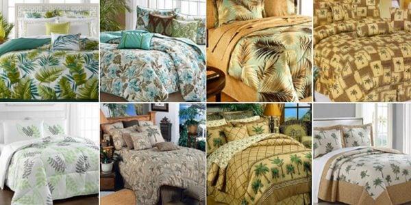 Palm Tree Comforter Set King