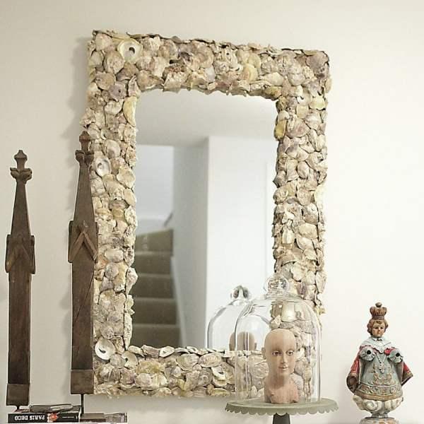 Seashell Mirrors And Capiz - Beachfront Decor