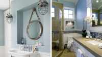 Beach Themed Bathroom Designs. bathroom design accent wall ...
