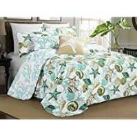 Seashell Bedding and Comforter Sets - Beachfront Decor