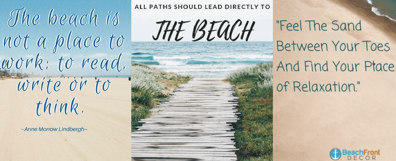 Beach Quotes and Ocean Quotes  Beachfront Decor