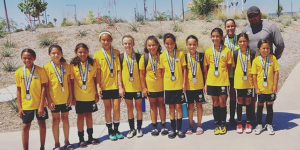 team photo beach futbol club soccer FINALISTS lb A PEREZ G07 lagoc summer invitational