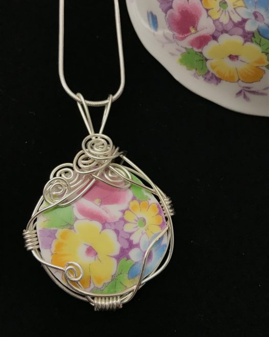 Custom Order Using OUR Beach Glass, Chipped China Piece, Stones, or Other Unique items
