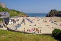 Tenby Castle Beach Pembrokeshire Wales Guide