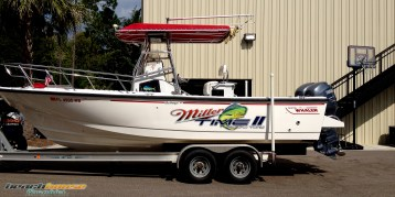 Miller Time II : Boat Decal