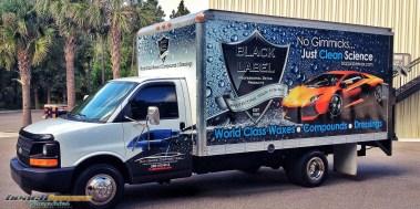 Black Label Wax : Box Truck Wrap