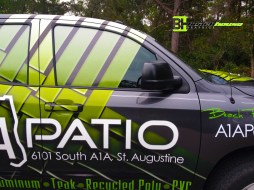 Maitland, Longwood Truck wrap, decals, graphics, lettering, vehicle, signs