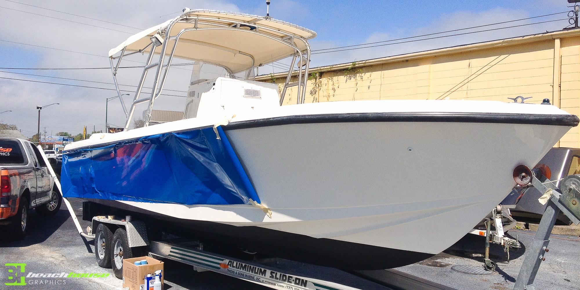 Boat Wrap Custom Vehicle Wraps