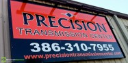 Vinyl Sign, Lettering, Graphics, Metal Sign