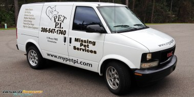 Pet P.I. : Vinyl Lettering