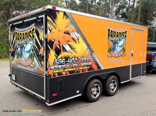 Trailer Wrap, Vinyl, Decals