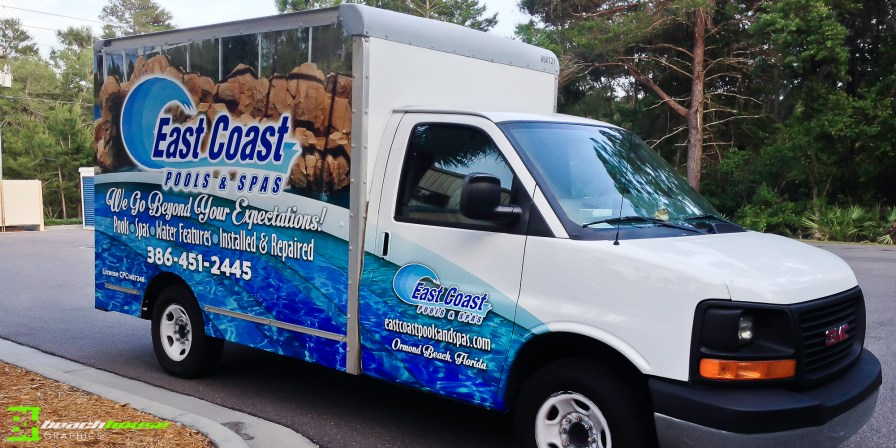 Daytona Beach Florida Vehicle Wraps