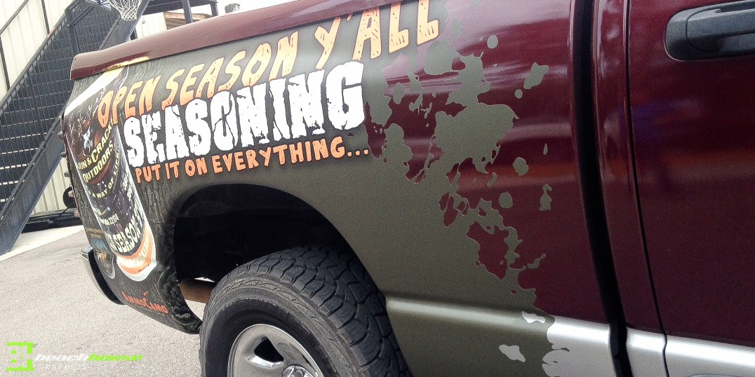 Mud Splatter Vinyl Decal