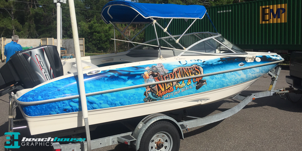 Vehicle and Boat Wraps in Daytona Beach