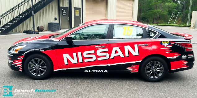 Vehicle Decals and wraps in Daytona Beach Floridaq