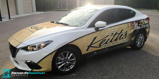 Graphics and Wraps in the Daytona Beach