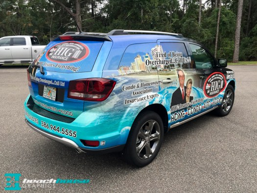 Vehicle Wraps in Central Florida