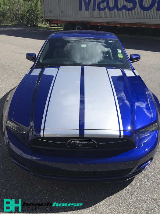 Vehicle_Wraps_Vinyl_Graphics_Custom_Stripes_Daytona_Beach_Mustang