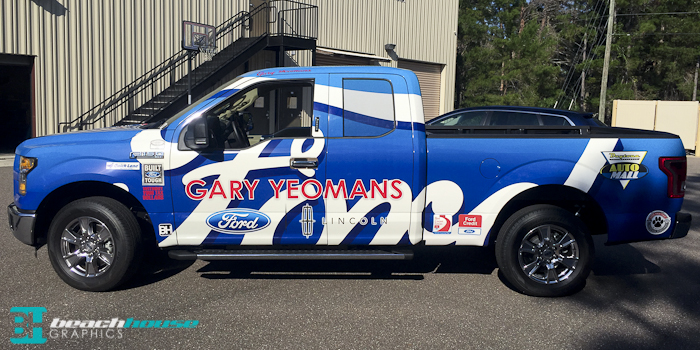 Gary Yeomans – Full Truck Wrap