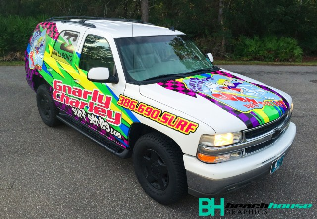 Fun custom wrap with amazing graphics