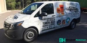 Van Wrap for Tomoka Brewing in Port Orange FL