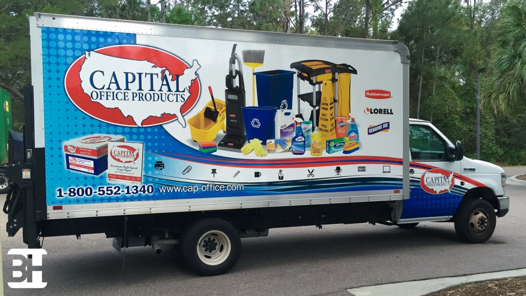Digital Print graphics and vehicle wraps in the Daytona Beach, central florida area