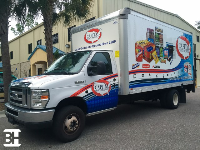 Vehicle wraps, graphics, truck wraps, decals, fleet graphics, box truck advertising
