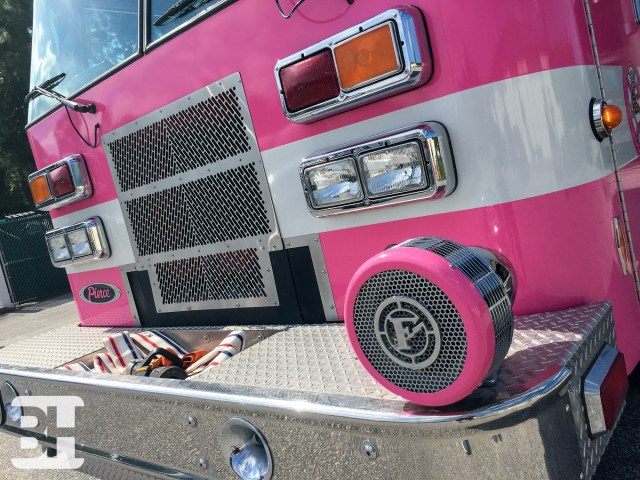 Palm Coast Custom Vinyl Fire Truck Wrap