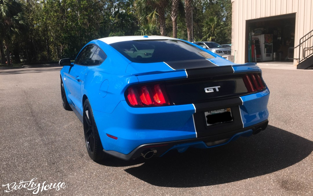 2017 Ford Mustang Striping and WRap