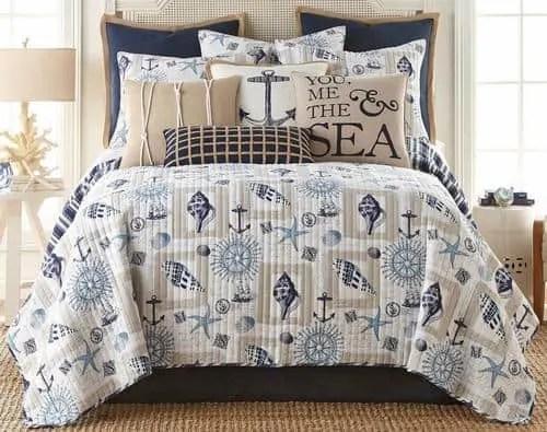The Best Coastal Style Comforters For Your Beach House - Beach House Bedding Ideas