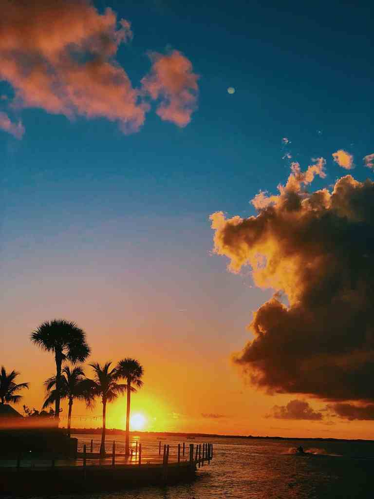 Magical Sunsets in Key Largo Florida