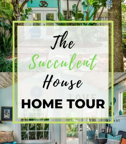 Beach Home Tour Coastal Decor Ideas The Succulent House Lake Worth Beach