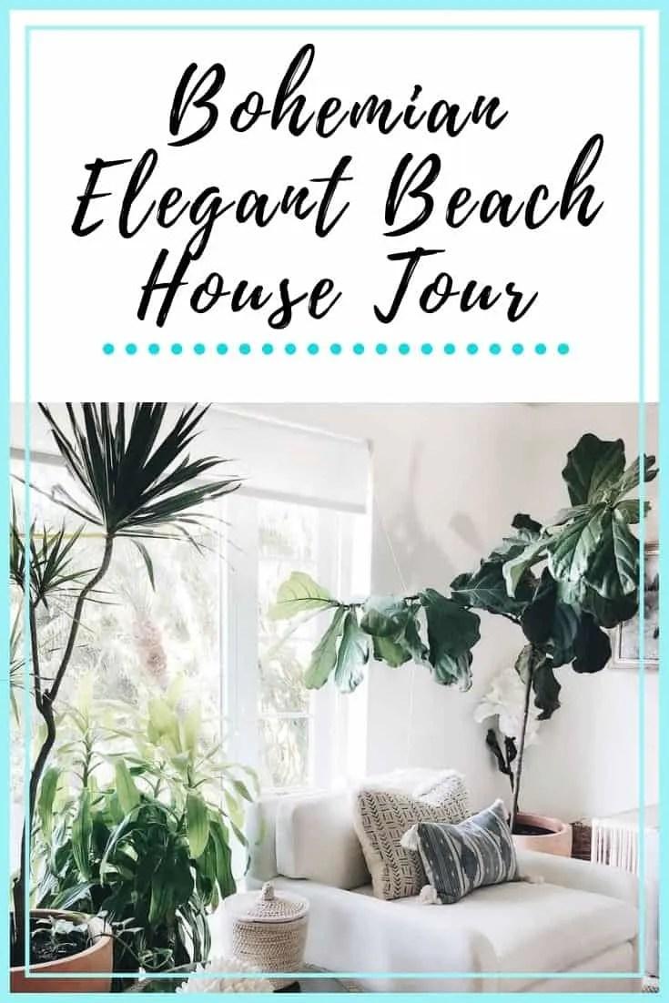 Bohemian Elegant Beach House Paradise