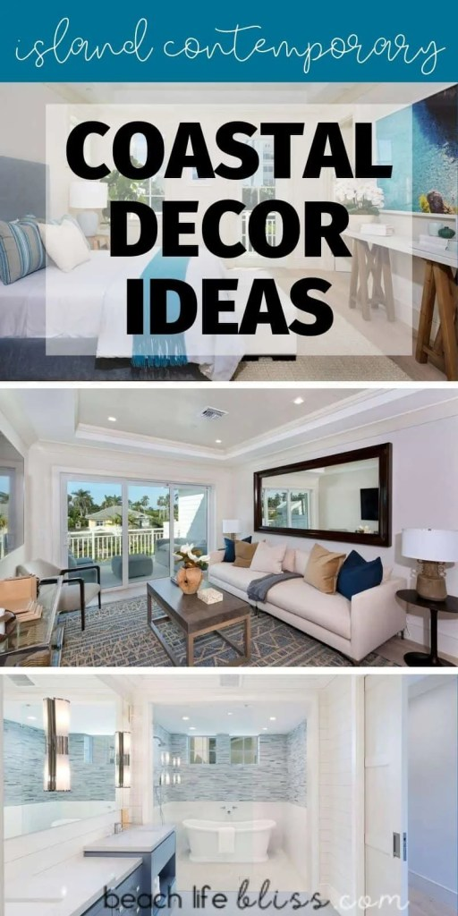 Island Contemporary - Beach House Tour - Beach House Coastal Decor Ideas - Air Bnb in Delray Beach Florida