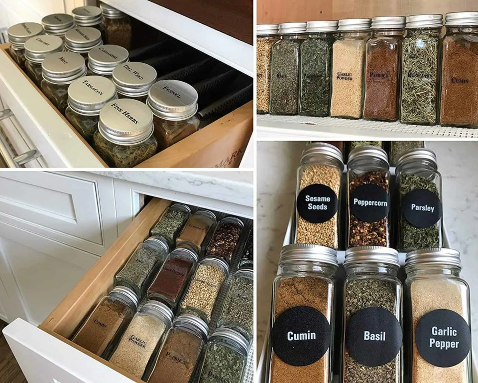 Organize Your Small Pantry For Cheap - Labels for containers